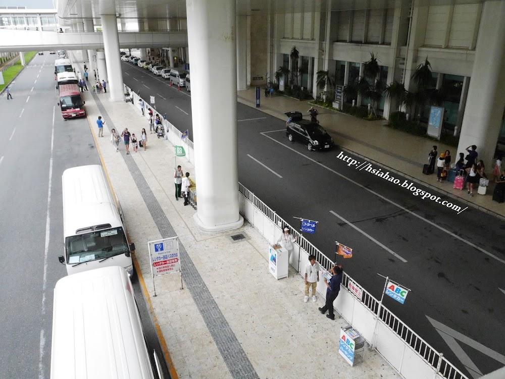 沖繩-那霸機場-國內線-國際線-交通-巴士-接駁-公車-自由行-旅遊-旅行-Okinawa-naha-airport-transport
