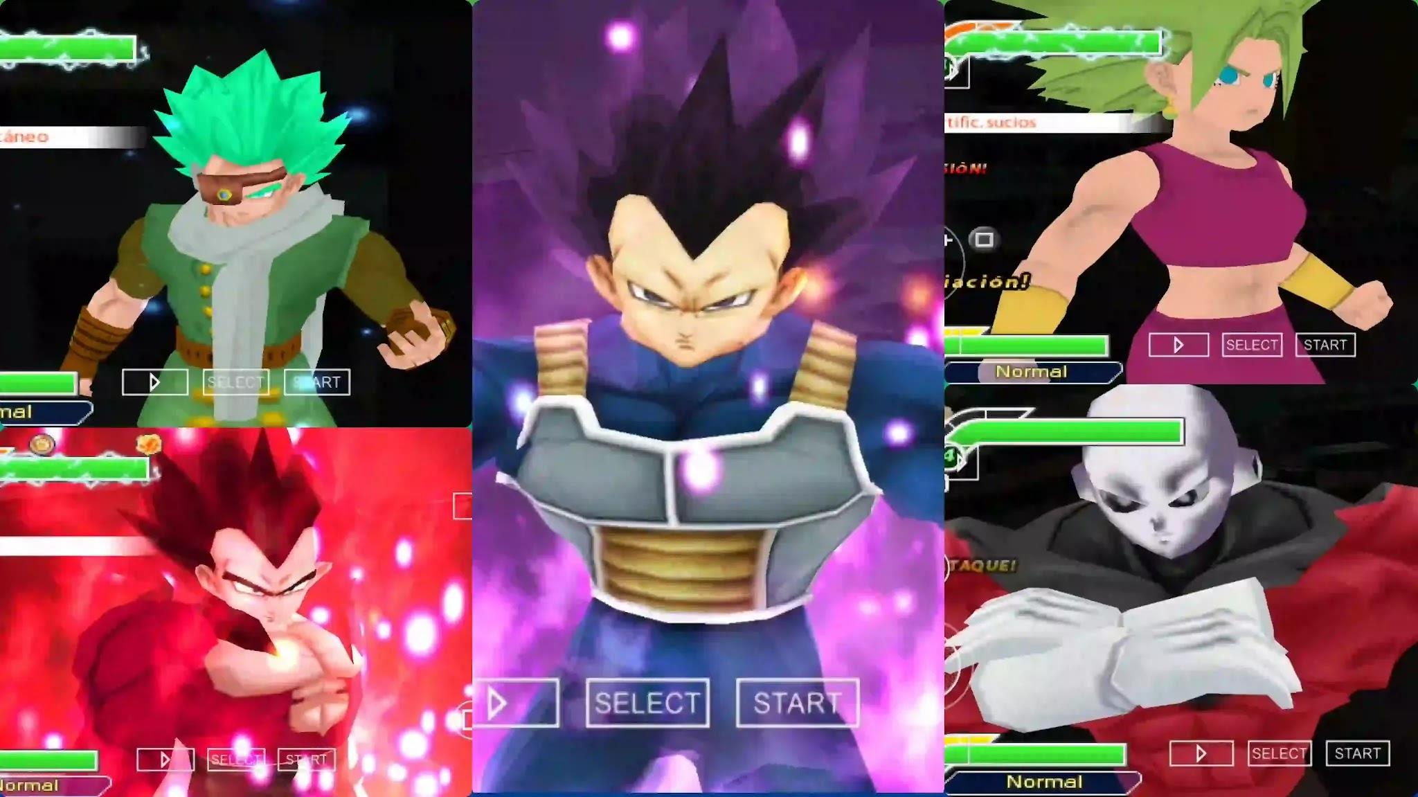 Dragon Ball Super Manga Vegeta Hakaishin VS Granola