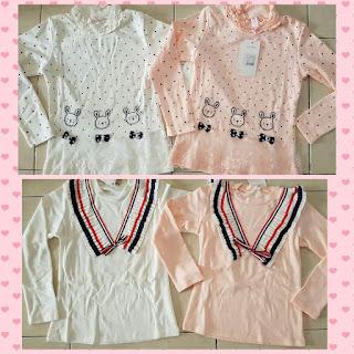Kaos Anak KS0010 Baby Pink