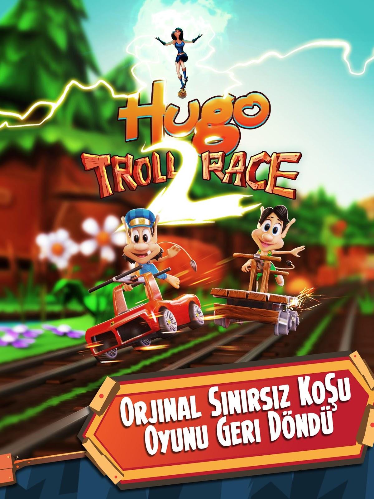 Hugo Troll Race 2 Hileli APK - Altın Hileli APK