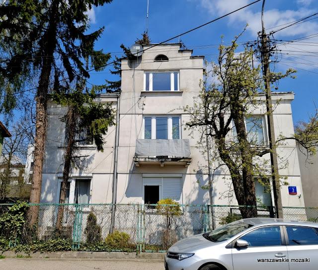 Warszawa Warsaw warszawskie ulice Włochy Stare historia ulicy przedwojenne architektura architecture