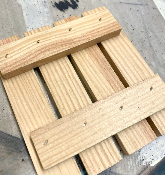 How to Make Pallet Drink Coasters