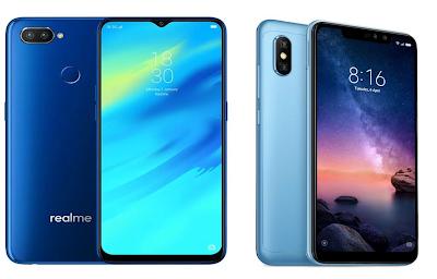Realme 2 Pro vs Xiaomi Redmi Note 6 Pro