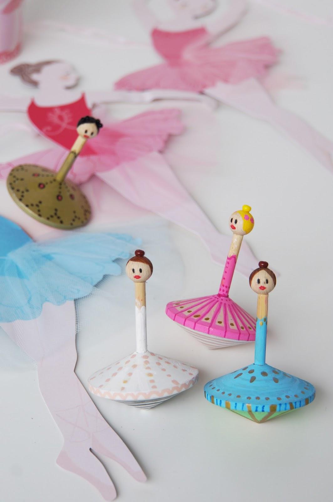 Basteln Malen Kuchen Backen Ballerina Party