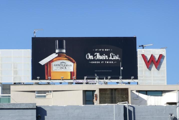 Jack Daniel's Gentleman Jack billboard
