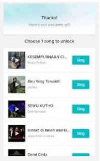 pilihan lagu karaoke smule