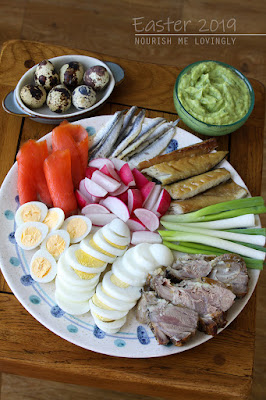 Easter cold plate