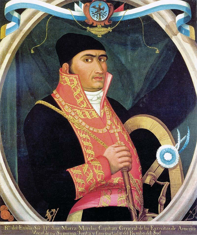 Retrato de Morelos | Autor desconocido