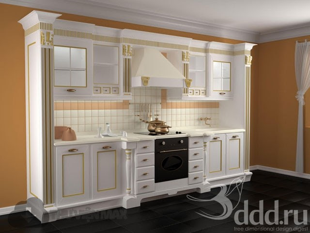 3d model free 3dmodelfree kitchen cabinets part 2 for Aster kitchen cabinets