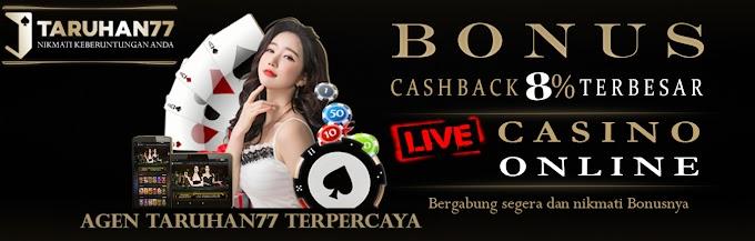 Promosi Cashback Terbesar Untuk Live Casino Terpercaya di Indonesia