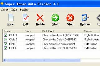 registra e ripeti mouse e click