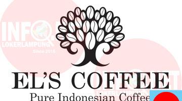 Lowongan Kerja Lampung Kasir, Waiters dan Barista El's Coffee