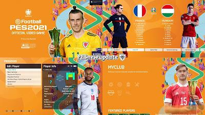 PES 2021 Menu Mod EURO 2020 Star of The Match V2 by PESNewupdate