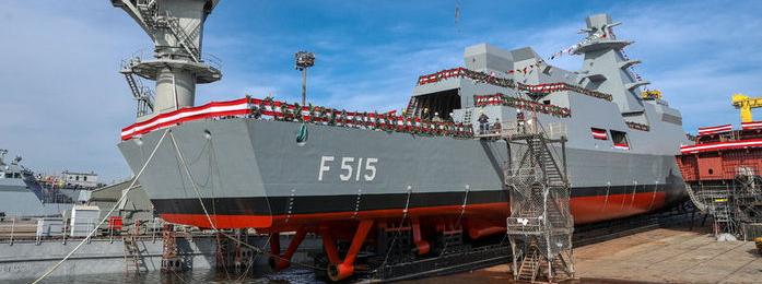 Туреччина спустила на воду перший фрегат