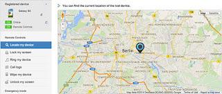 Samsung search mobile cara melacak handphone