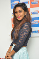 Shravya in skirt and tight top at Vana Villu Movie First Song launch at radio city 91.1 FM ~  Exclusive 171.JPG