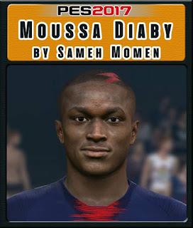 PES 2017 Faces Moussa Diaby by Sameh Momen
