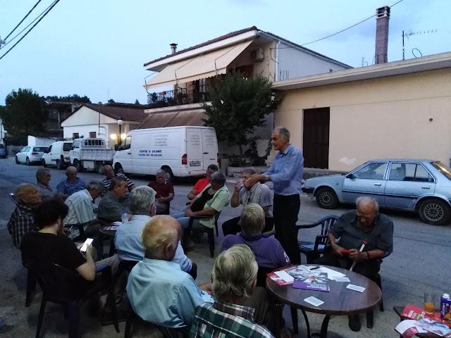 Γιάννης Γκιόλας:  Κορύφωση της προεκλογικής εκστρατείας με περιοδεία ΣΥΡΙΖΑ στα χωριά της Μιδέας