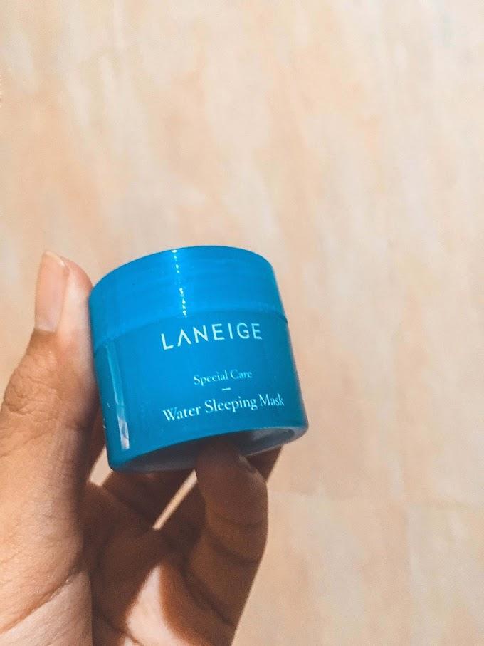 Review LANEIGE WATER SLEEPING MASK - Original