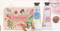 Logo L'Occitane en Provence: Scatolina omaggio con Duo Mani morbide
