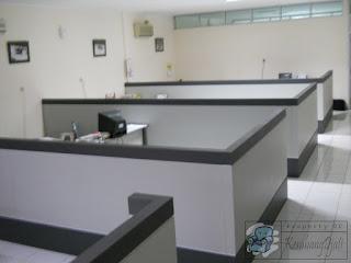 Harga Sekat Partisi Ruang Kantor + Furniture Semarang
