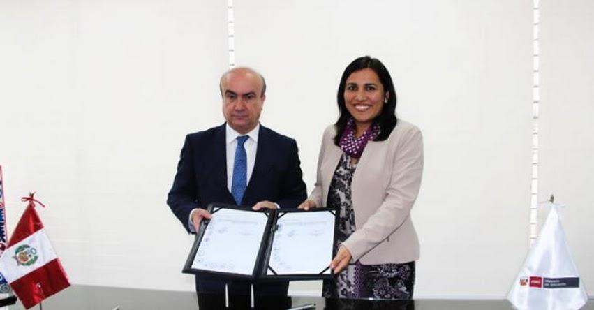 MINEDU y OEI firman convenio para capacitar a 2760 directores en gestión y calidad educativa - www.minedu.gob.pe