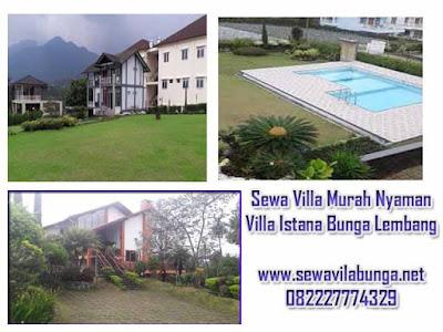 Sewa villa murah dan nyaman di lembang