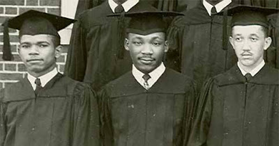 Martin Luther King, Jr. graduating from high school