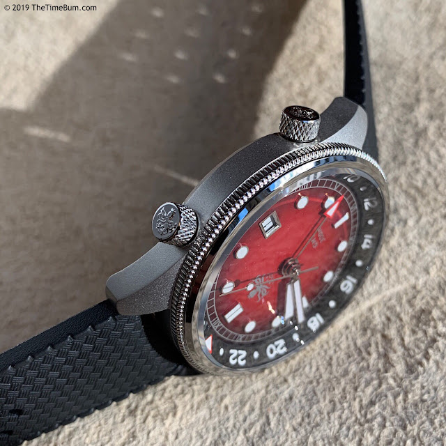 Phoibos Eagle Ray GMT crowns