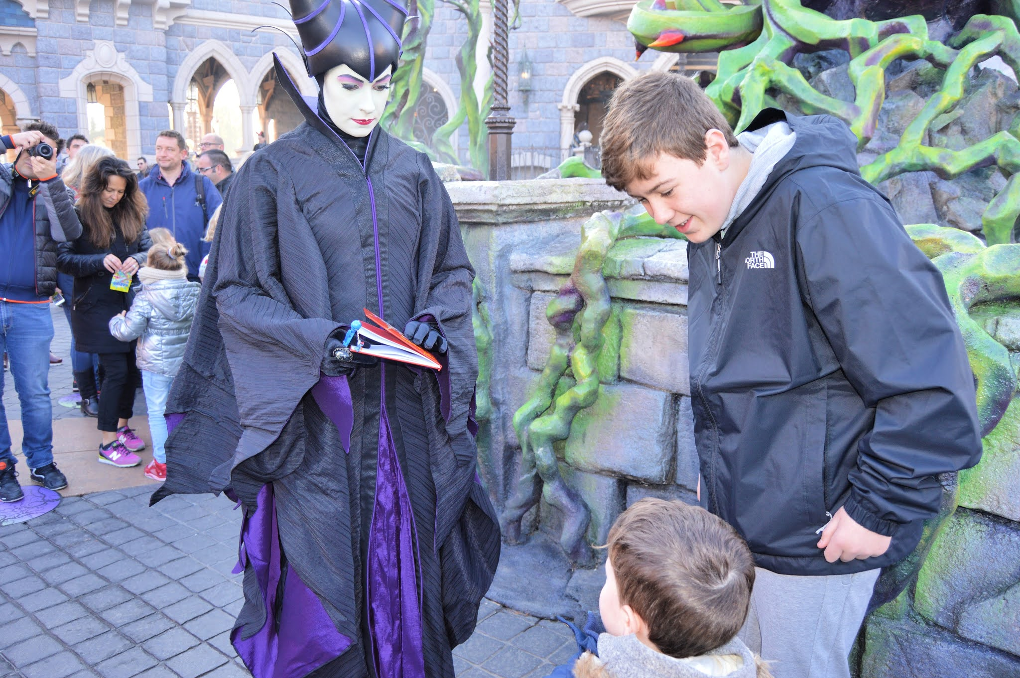 Maleficent at Disneyland Paris