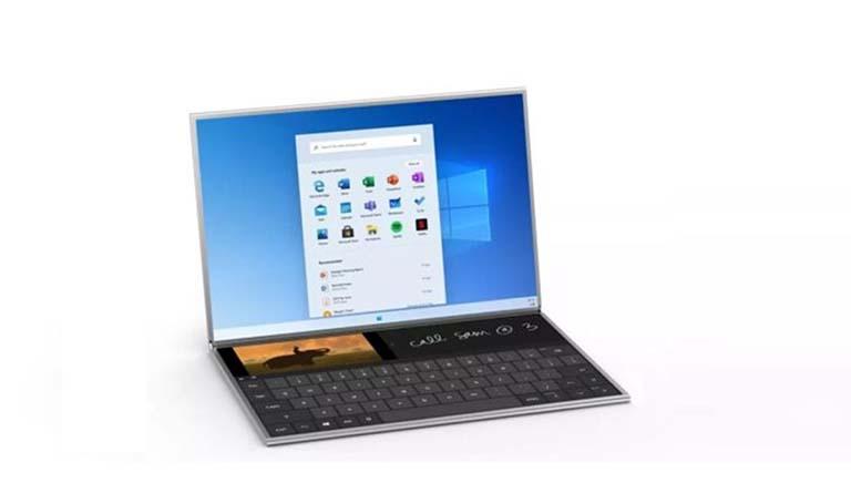 Ini Adalah Microsoft Surface Neo Dual-Screen Dengan Sistem Operasi Windows 10X