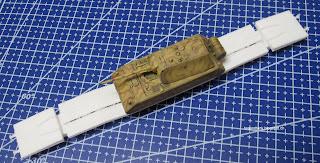 1/144 Maus train transporter