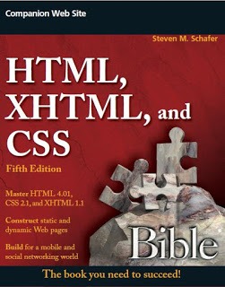 HTML, XHTML, and CSS Bible, 5th edition. Wiley