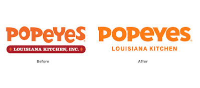Popeyes Channel it's silly brand identity for a closed-up new look