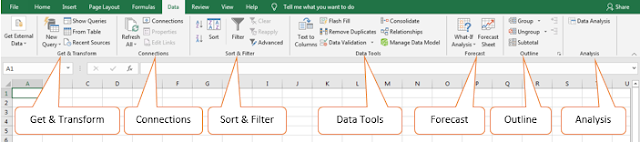 Excel Data tab