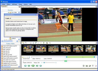 Kinovea, sports analysis program