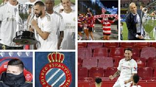 The Best & Worst in La Liga season 2020: Benzema beats Messi.
