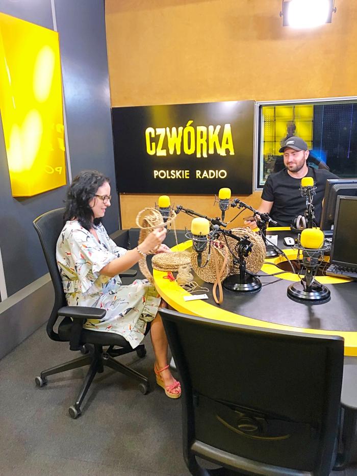 Byłam gościem w Czwórka Polskie Radio!