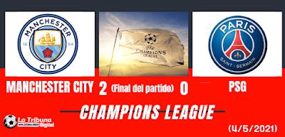 MANCHESTER CITY SE VA A LA FINAL DE LA CHAMPIONS