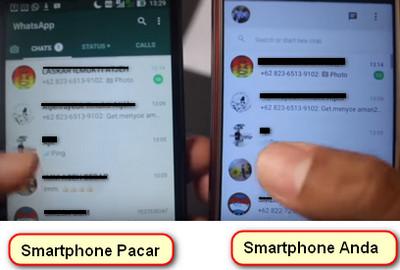 cara menyadap whatsapp orang lain tanpa meminjam hp nya