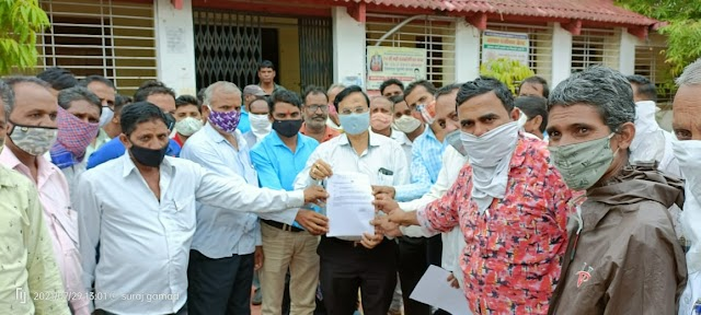पंचायत एवं ग्रामीण विकास विभाग के कर्मचारी द्वारा गठित संयुक्त मोर्चा ने ज्ञापन सौपा   Panchayat evam gramin vikas vibhag ke karmchari dvara gathit sanyukt morcha ne gyapan sopa