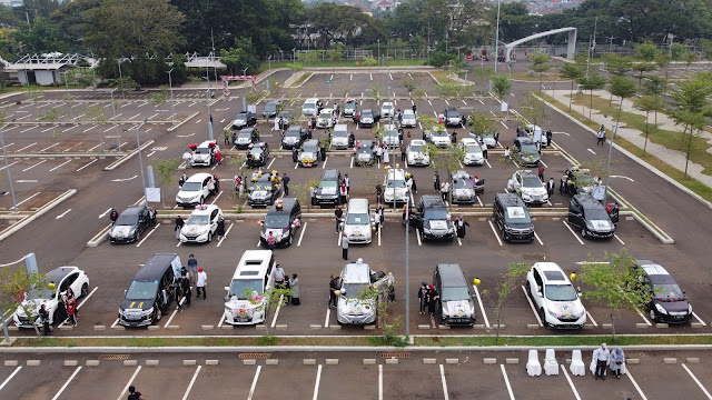 Drive-In Graduation at SMP Islam Tugasku, Jakarta at Jakarta Equestrian Center