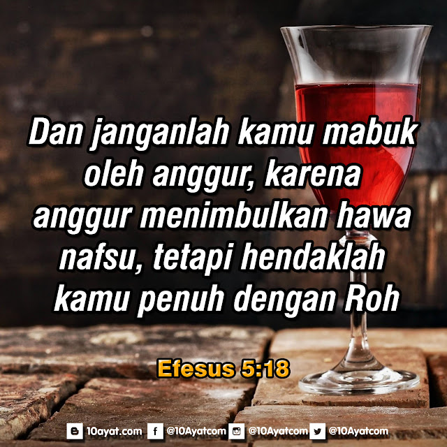 Efesus 5:18