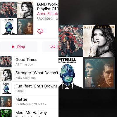 Iowa Academy of Nutrition and Dietetics (IAND) Workout Playlist of the Week on Apple Music and Spotify