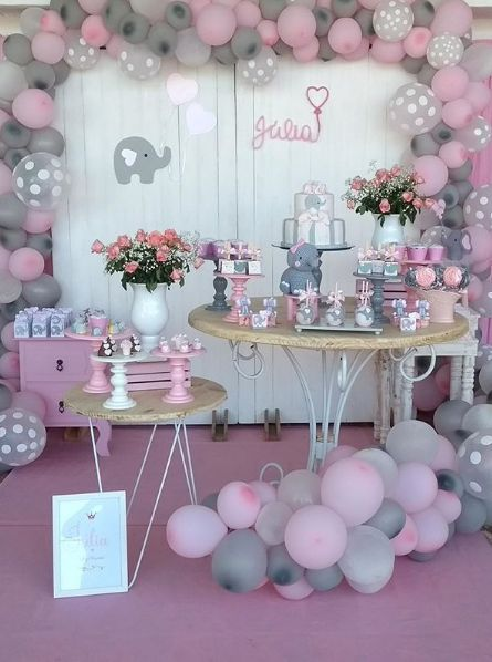 Ideas De Decoracion Baby Shower Nina.Baby Shower Decoracion Nina Baby Viewer