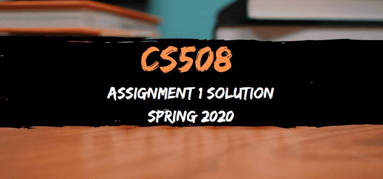 cs508