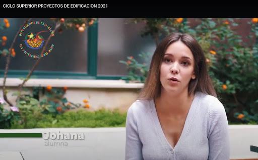 2021 VIDEO PROMOCIONAL del CFGS PROYECTOS de EDIFICACION
