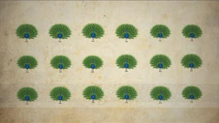 Counting to 19 using Indian imagery, Sesame Street Episode 4325 Porridge Art season 43