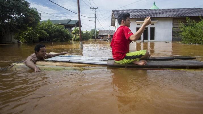 Ini Lho Sederet Alasan Pemerintah Diklaim Pemicu Banjir Besar Kalsel, Bukan Tambang Kok