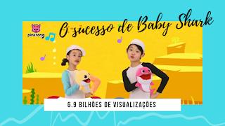 Baby shark é o segundo vídeo mais acessado do YouTube